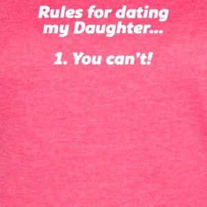 RULES FOR DATING MY DAUGHTER - Women's Vintage Sport T-Shirt