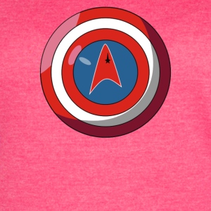 Captain America Federation 2 Cyber System - Women's Vintage Sport T-Shirt