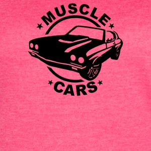 Muscle Car - Women's Vintage Sport T-Shirt