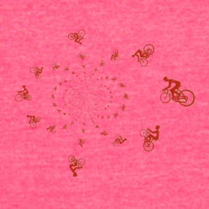 Cyclist circle - Women's Vintage Sport T-Shirt