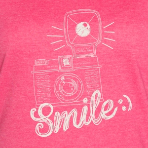 Retro Camera Smile - Women's Vintage Sport T-Shirt
