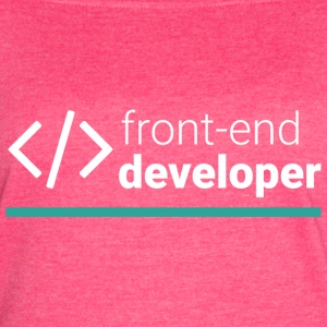 Front End Developer T Shirt - Women's Vintage Sport T-Shirt