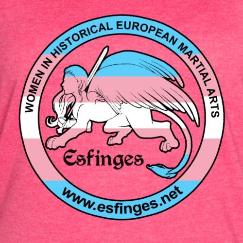 Esfinges Trans pride flag - Women's Vintage Sport T-Shirt