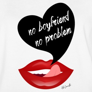No boyfriend no problem - Women's Vintage Sport T-Shirt