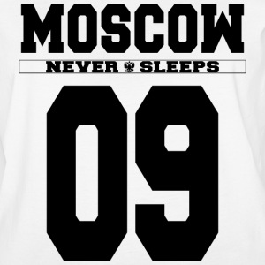 MOSCOW 09 NEVER SLEEPS - Women's Vintage Sport T-Shirt