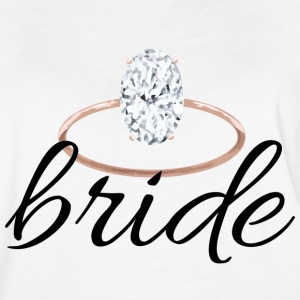 bride with ring - Women's Vintage Sport T-Shirt