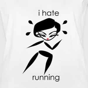 Hate Running - Women's Vintage Sport T-Shirt