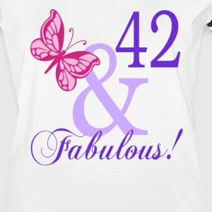 42 and Fabulous - Women's Vintage Sport T-Shirt