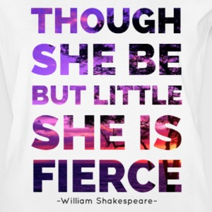 She is Fierce - Shakespeare - purple - Women's Vintage Sport T-Shirt