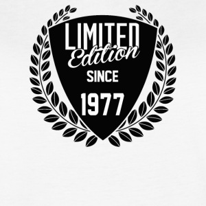 Limited Edition Since 1977 - Women's Vintage Sport T-Shirt
