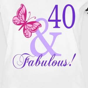 40 and Fabulous - Women's Vintage Sport T-Shirt