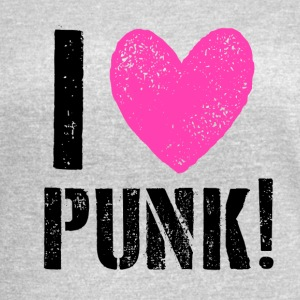 I LOVE PUNK! - Women's Vintage Sport T-Shirt
