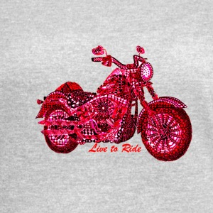 Live to Ride - Women's Vintage Sport T-Shirt