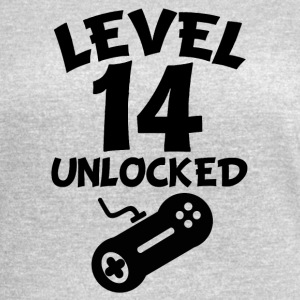 Level 14 Unlocked Video Games 14th Birthday - Women's Vintage Sport T-Shirt
