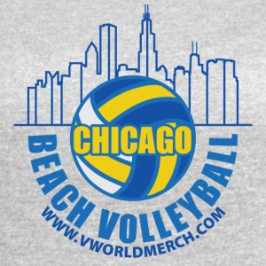 Chicago Beach Volleyball B - Women's Vintage Sport T-Shirt