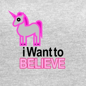 I want to believe - Women's Vintage Sport T-Shirt