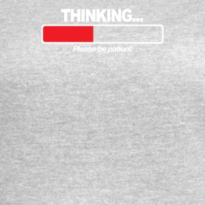 THINKING PATIENT - Women's Vintage Sport T-Shirt