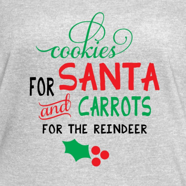 Cookies For Santa And Carrots For The Reindeer Des