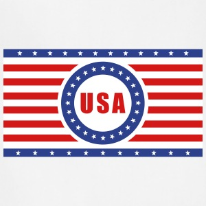 USA Flag Horizontal - Adjustable Apron