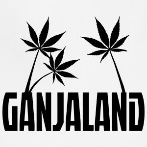 Ganjaland Logo - Adjustable Apron