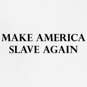 America slave - Adjustable Apron