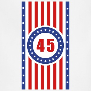 USA 45 Flag Vertical - Adjustable Apron