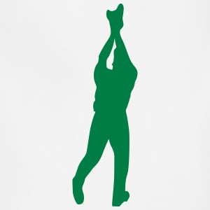 Baseball player silhouette 4 - Adjustable Apron