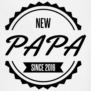 new papa since 2016 - Adjustable Apron