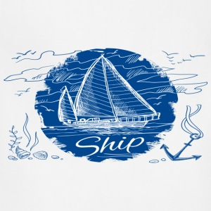ship shirt - Adjustable Apron