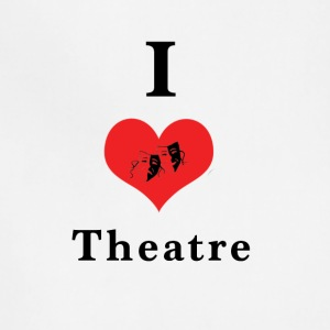 I_love_theatre - Adjustable Apron