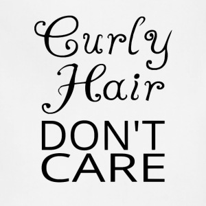 Curly Hair Don't Care - Adjustable Apron