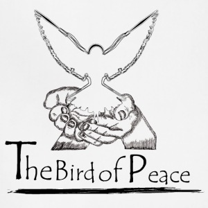 White Dove for Peace - Adjustable Apron