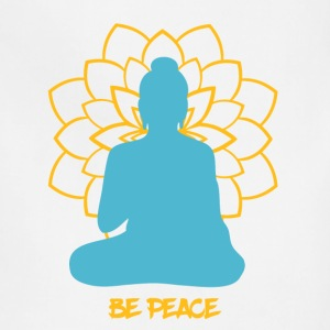 Buddhism - Be Peace - meditation Buddha. - Adjustable Apron