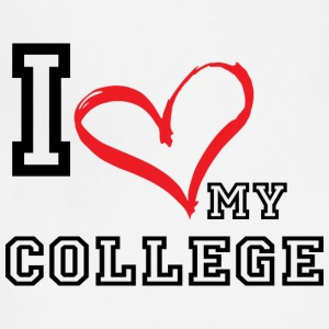I_LOVE_MY_COLLEGE - Adjustable Apron