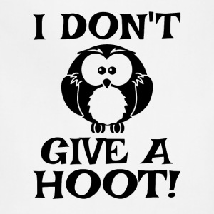 I Don't Give A Hoot - Adjustable Apron