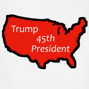 Trump 45th President (Bold Red USA) - Adjustable Apron