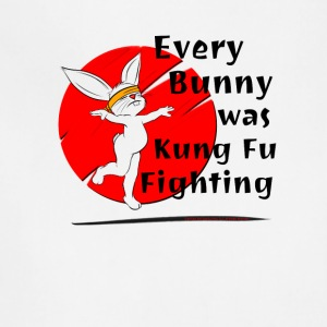 Every Bunny was Kung Fu Fighting - Adjustable Apron