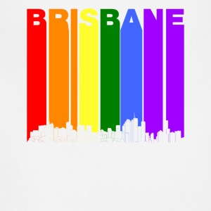 Brisbane Australia Skyline Rainbow LGBT Gay Pride - Adjustable Apron