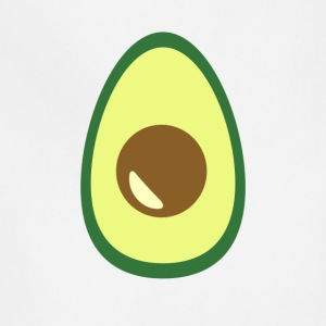Huge Avocado Guacamole Food Porn Design - Adjustable Apron