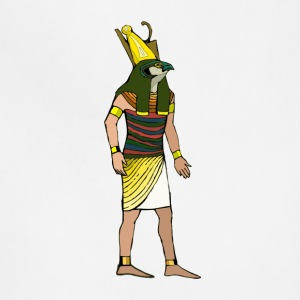 Ancient Egyptian Painting - Horus, the Falcon God - Adjustable Apron