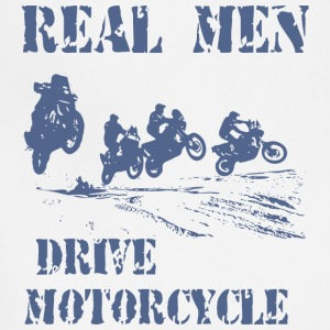REAL MEN DRIVES MOTORCYCLES - Adjustable Apron