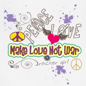 MAKE LOVE NOT War - Adjustable Apron