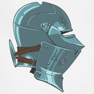 middle_age_knight_helmet - Adjustable Apron