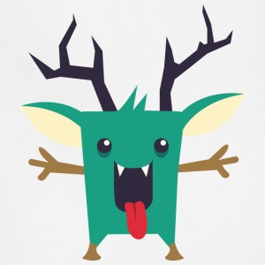 deer_monster - Adjustable Apron