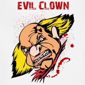 EVIL_CLOWN_5_bloody - Adjustable Apron