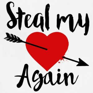 Steal my Heart tee - Adjustable Apron