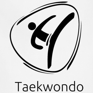 Taekwondo_black - Adjustable Apron