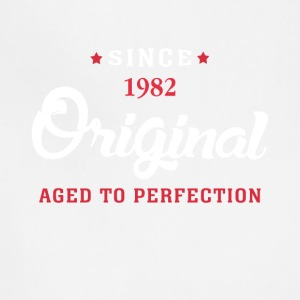 Since 1982 Original Aged To Perfection Cool Gift - Adjustable Apron
