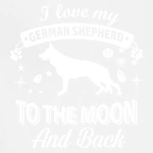 Love my German Shepherd - Adjustable Apron
