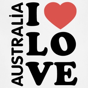 I love Australia - Adjustable Apron